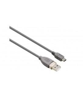 HAMA 39661 0.25m USB 2.0 A Fiş Mini B Fiş Gri