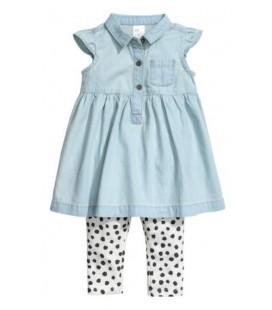 H.M Kız Çocuk Elbise Takım 0579222