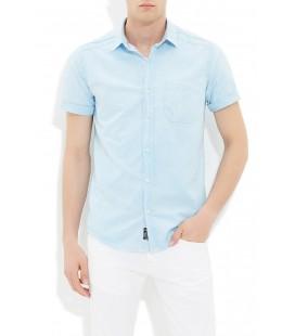 Mavi Erkek Kısa Kollu Gömlek 020340-21016