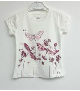 Funfair Kız Çocuk Beyaz Tişört 152-01