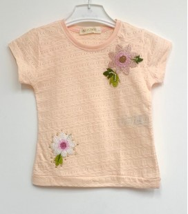 Funfair Kız Çocuk Somon Tişört 18Y6301017