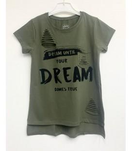 Funfair Kız Çocuk Haki Tişört 18Y6301034