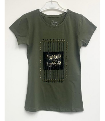 Funfair Kız Çocuk Haki Tişört 18Y6301038