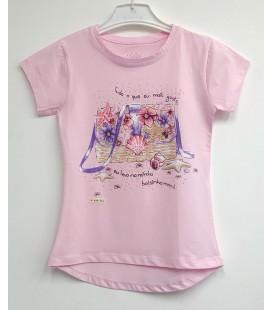 Funfair Kız Çocuk Pembe Tişört 18Y6301024