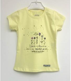 Funfair Kız Çocuk Sarı Tişört 18Y6301007