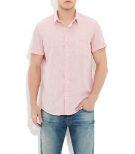 Mavi Erkek Kısa Kollu Gömlek 020370-21009