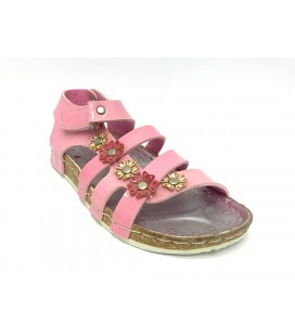 Loris Pembe Kız Çocuk Sandalet