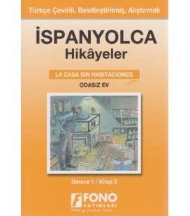 İspanyolca Hikayeler Odasız Ev Derece 1 Kitap 2 Fono Yayınları