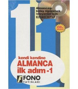 Kendi Kendine Almanca İlkadım 1. Kitap 2 Cdli Fono Yayınları