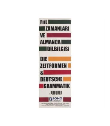 Almanca Fiil Zamanları ve Dilbilgisi Tablosu Fono Yayınları