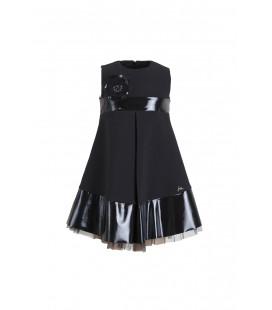 Lia Lea Siyah Kız Çocuk Elbise 3636LL01434