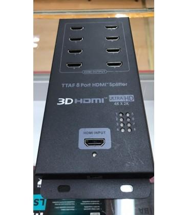 Ttaf 8 Port Hdmi Splitter