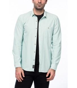Mavi Erkek Su Yeşili Gömlek 020314-20812