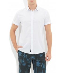 Mavi Erkek Çizgili Gömlek 020368-21027