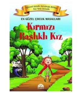 Kırmızı Başlıklı Kız En Güzel Çocuk Masalları Martı Yayınları