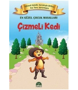 Çizmeli Kedi En Güzel Çocuk Masalları Martı Yayınları