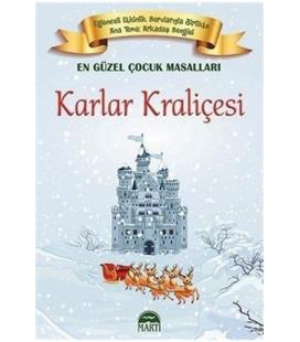 Karlar Kraliçesi Kız En Güzel Çocuk Masalları Martı Yayınları