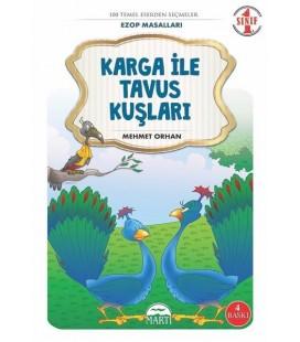 Karga ile Tavus Kuşu Kuşları-Ezop Masalları-1.Sınıf