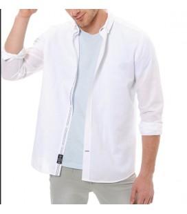 Mavi Gömlek | Yarı Dar Kalıp 020374-620