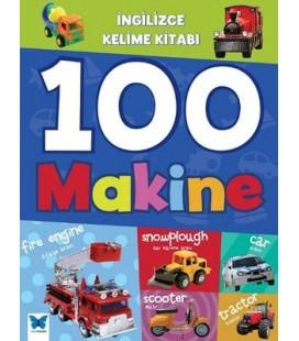 İngilizce Kelime Kitabı - 100 Makine - Mavi Kelebek Yayınevi