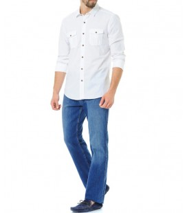 Mavi Gömlek | Dar Kalıp