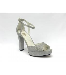 Miranda Kerr Kadın Topuklu Ayakkabı Gümüş