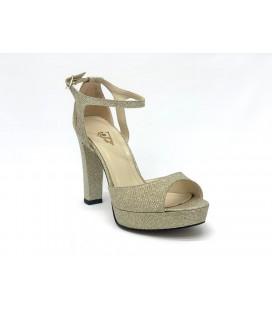 Miranda Kerr Kadın Topuklu Ayakkabı Gold