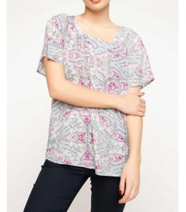Defacto Kadın Desenli Bluz G6086AZ