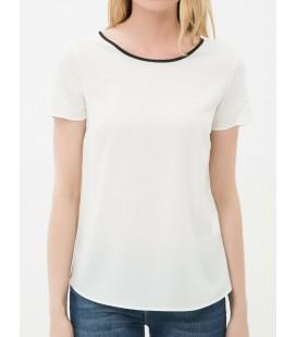 Koton Kadın Sırt Detaylı Bluz Ekru 6YAK63088EW002