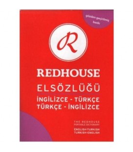 Redhouse Büyük El Sözlüğü İngilizce Türkçe