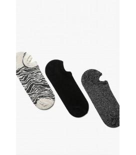 Koton Kadin Siyah 3'lü Çorap 9KAK81047AA