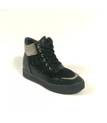 Kriste Bell Siyah Bayan Ayakkabı K172-6722