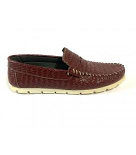 Polo Style Erkek Bordo Ayakkabı