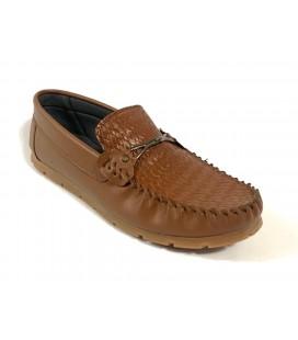 Polo Style Erkek Kahverengi Ayakkabı PL0004