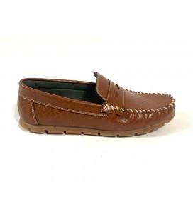 Polo Style Erkek Kahverengi Ayakkabı PL0003