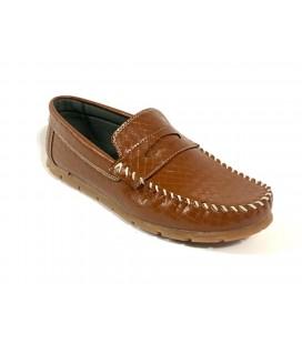 Polo Style Erkek Kahverengi Ayakkabı