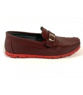 Polo Style Erkek Bordo Ayakkabı PL0002