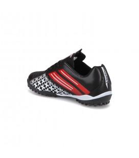 Kinetix Crosser Tf Siyah Kırmızı Erkek Halı Saha Ayakkabısı