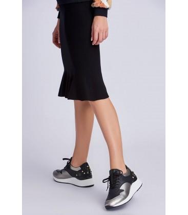İnci Siyah Kadın Sneaker 6852 120130008875