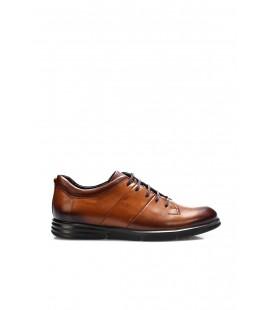 İnci Hakiki Deri Taba Erkek Oxford Ayakkabı 7004 120130009030
