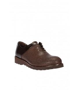 İnci Hakiki Deri Erkek Koyu Kahverengi Ayakkabı 5188 120130003744