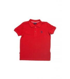 U.S Polo Çocuk Tişört Kırmızı