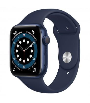 Apple Watch 6 44mm Mavi Alüminyum Kasa ve Spor Kordon