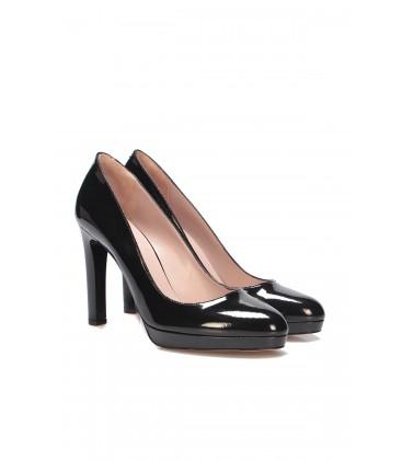 İnci Siyah Kadın Klasik Topuklu Ayakkabı 6721 120130008707