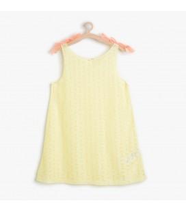 Koton Kız Çocuk Çiçek Desenli Elbise 6YKG89174BK169