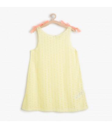 Koton Kız Çocuk Çiçek Desenli Elbise