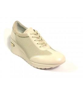 İnci Hakiki Deri Bej Kadın Ayakkabı  7693