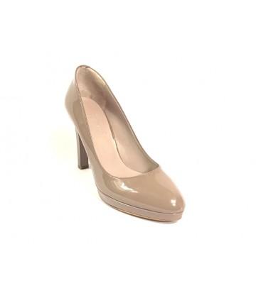 İnci Hakiki Deri Açık Pembe Kadın Topuklu Ayakkabı  6721