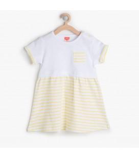 Koton Kız Çocuk Cep Detaylı Elbise 6YMG87131OK18Z