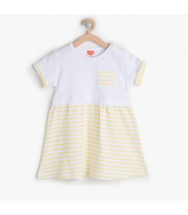 Koton Kız Çocuk Cep Detaylı Elbise